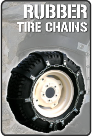 Rubber Tire (Snow) Chains - Traction without damage