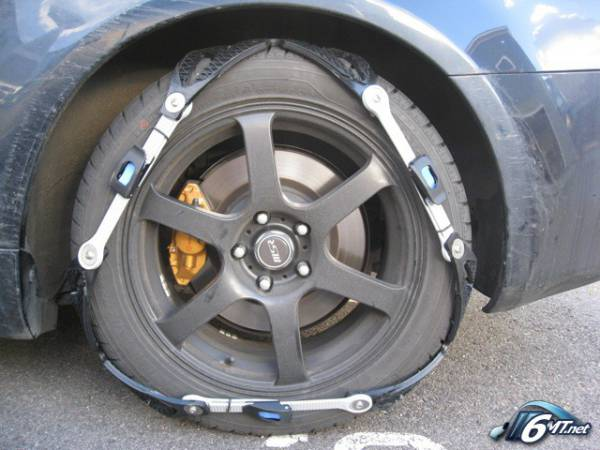 Rubbertirechains Com Traction Without Damaging Your Surface